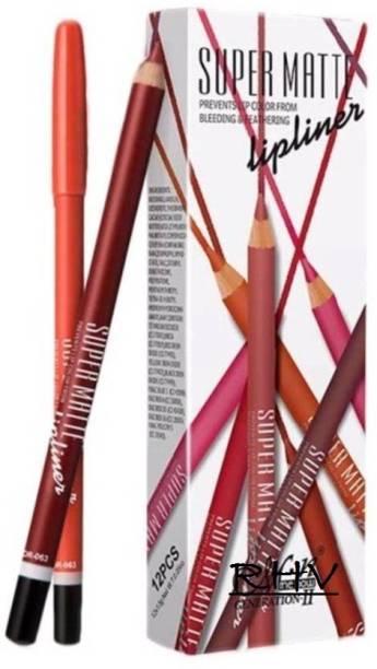RHV Me now Super Matte High Quality Lip Liner Pencil