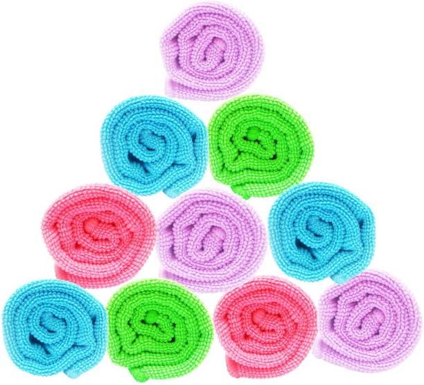 Space Fly sf-microfibercloth-11X16-10 Multicolor Napkins