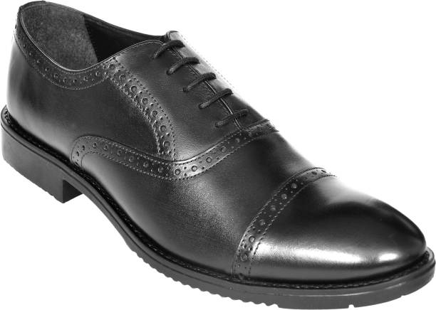 4dac2f9c5b125f OHM New York Double Brogue Oxford italian leather shoes Lace Up For Men