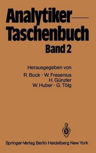 Analytiker-Taschenbuch: 2