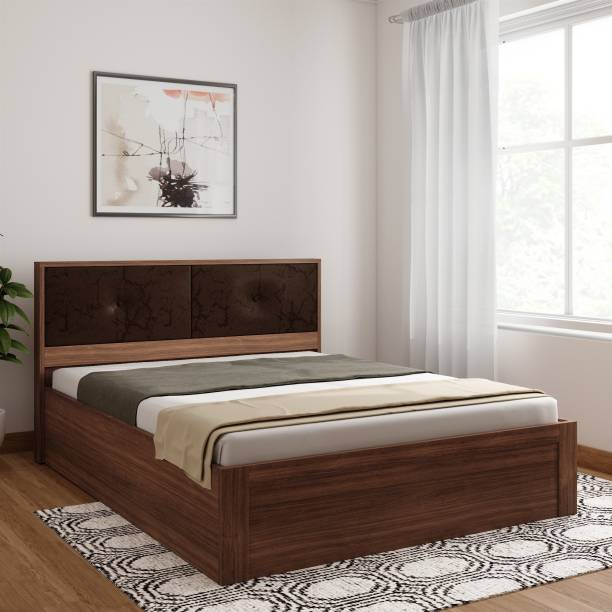 SPACEWOOD Engineered Wood Queen Box Bed