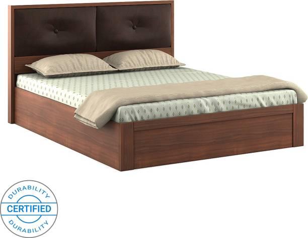 SPACEWOOD Engineered Wood Queen Drawer Bed