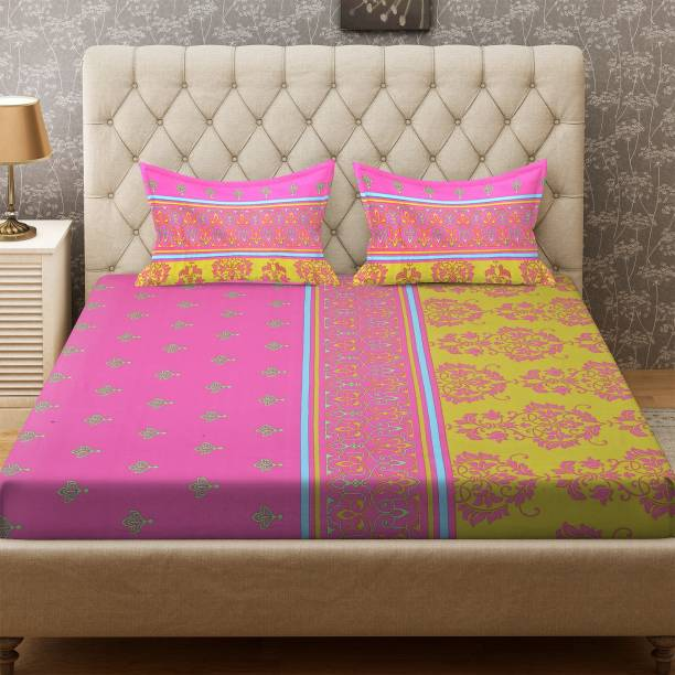Ay Dyeing 100 Tc Cotton Double Printed Bedsheet