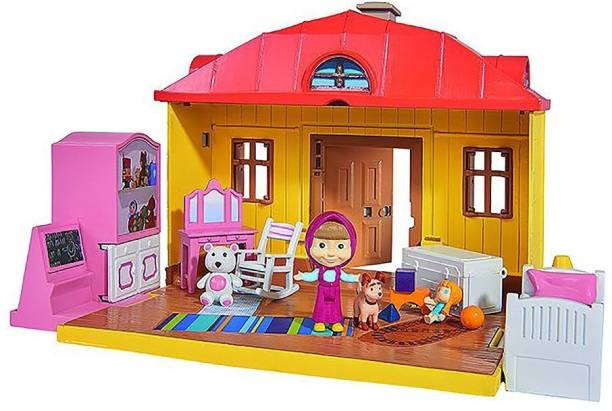 SIMBA Masha and the Bear - Masha's House Playset