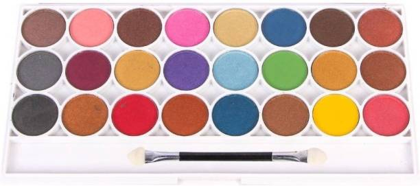 Imported 24 Color Matte Eyeshadow Proffessional Make-Up Palatte 70 g