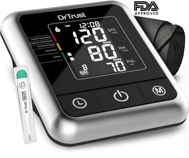 dab6bdd2485 Dr. Trust (USA) Fully Automatic A-One Galaxy Digital Blood Pressure Monitor