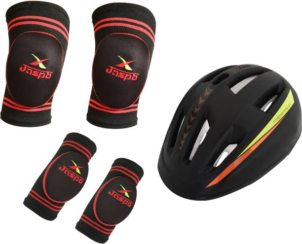 Jaspo B- Safe Guards (Knee,Elbow,Helmet)(Small) Skating Kit