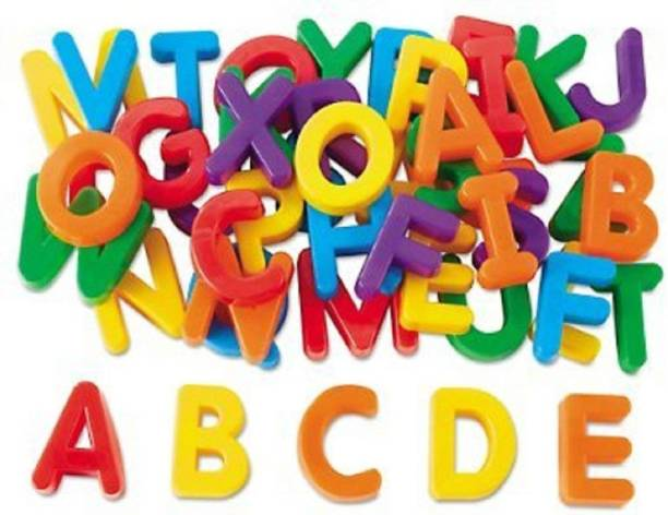 SEE INSIDE First Classroom ABCD Use Magnetic Letters for Kids