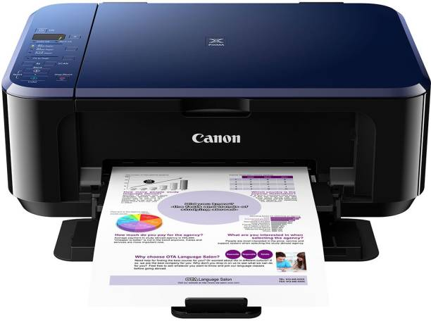 Canon PIXMA E510 Multi-function Color Printer