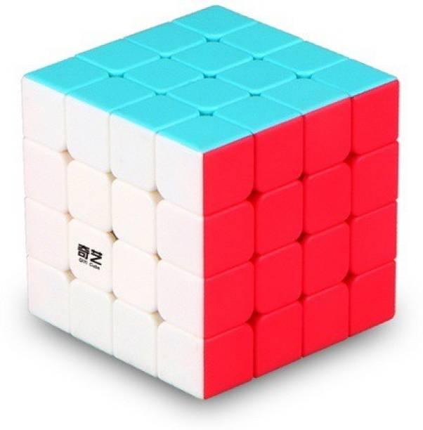 AGAMI 4x4 Qiyi Stickerless High Speed Cube