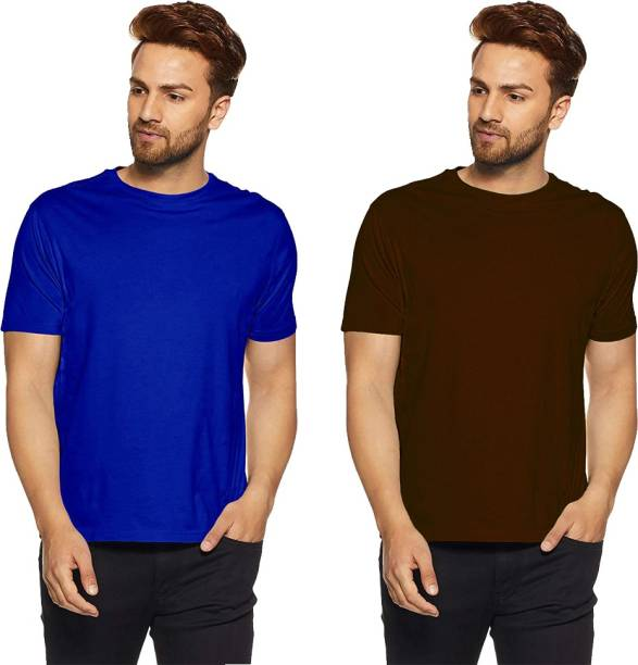 a779fa44b4c52b Plain T Shirts - Buy Plain T Shirts online at Best Prices in India ...