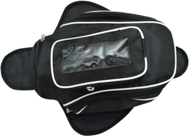 Golden Fox One-side Black Fabric Motorbike Saddlebag