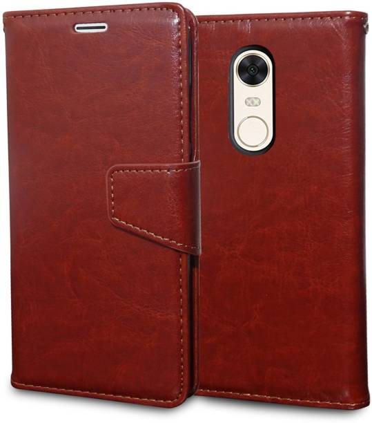 Unistuff Flip Cover for Mi Redmi Note 4
