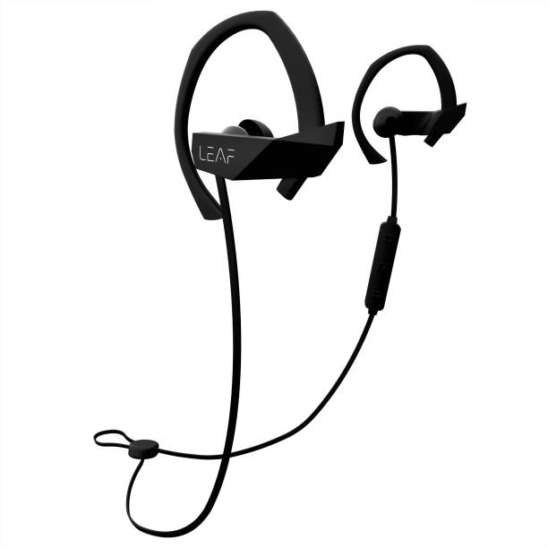 531d5200fb6 Leaf Ear Sport Wireless Bluetooth Earphone with Mic and Sport Ear Hook  Bluetooth Headset with Mic