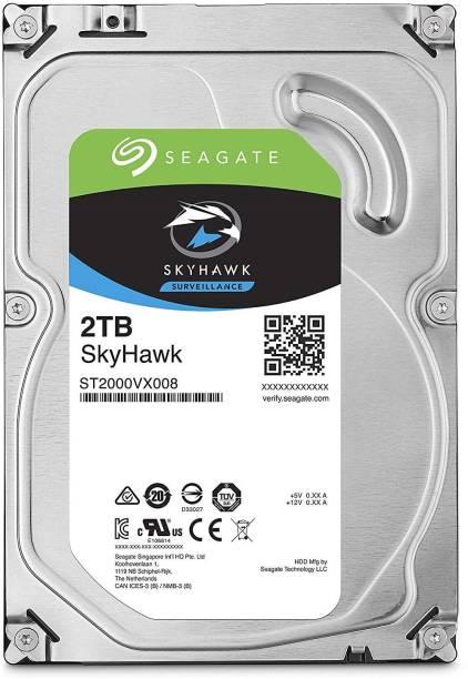 Seagate SKYHAWK SURVEILLANCE 2 TB Surveillance Systems, All in One PC's, Desktop Internal Hard Disk Drive (ST2000VX007)