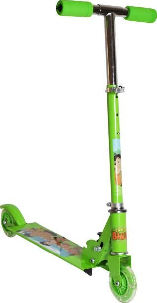 CHHOTA BHEEM Chota Bheem 2 Wheel Scooter Green