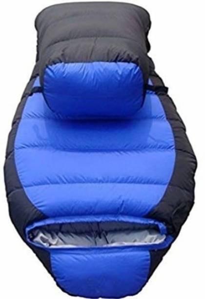 Flipfit Fluffy Ultra Warm Dual Tone Sleeping Bag (Multicolor) (Platinum Series) Sleeping Bag