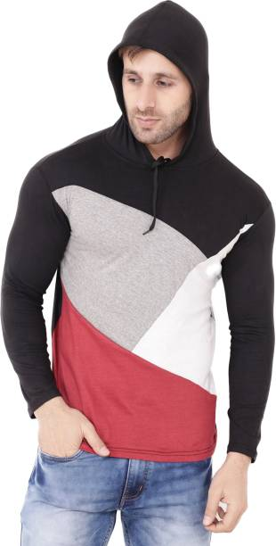 f59fdbabbac Hooded Tshirts - Buy Mens Hoodied Jackets Online at Best Prices in ...
