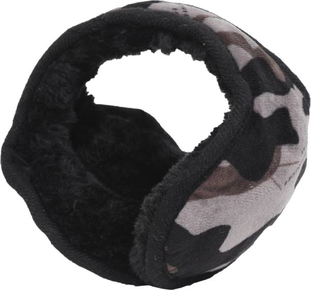 FabSeasons Camouflage Headwear Faux Fur Ear Muffs / Ear Warmers - Behind The Head Style Winter Earmuffs for Men & Women Ear Muff