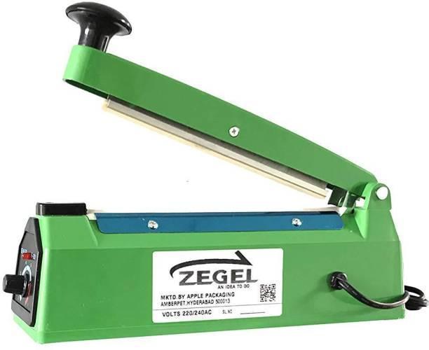 Zegel 08 Inch Heat Sealing Machine Portable Hand Sealer Electric Impulse Seal Plastic Bag, Sealer, Machine, Electric, Packing Machine Hand Held Heat Sealer