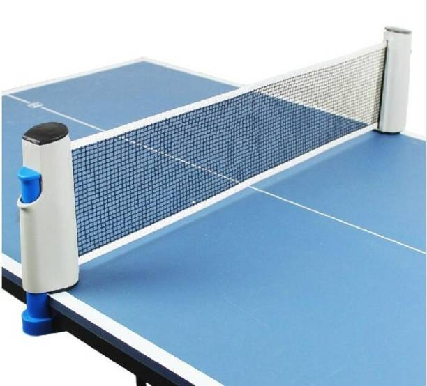 TIMA Hi-Quality and Innovative Retractable Table-Tennis Net with Adjustable Length and Push Clamps – Portable and Fits Most Tables Table Tennis Net
