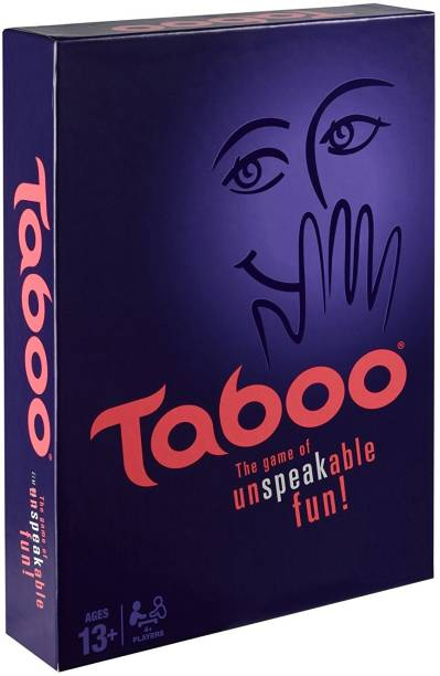 Authfort Taboo The Game of Unspeakble Fun Family Board game Board Game Word Games Board Game