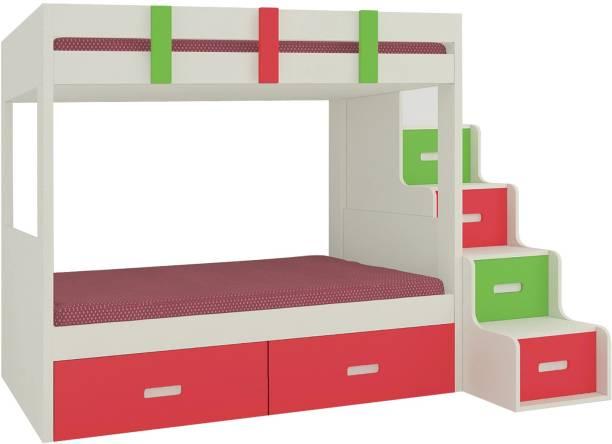 Adona Engineered Wood Bunk Bed