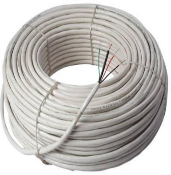 HANUTECH copper 0.05 sq/mm White 90 m Wire