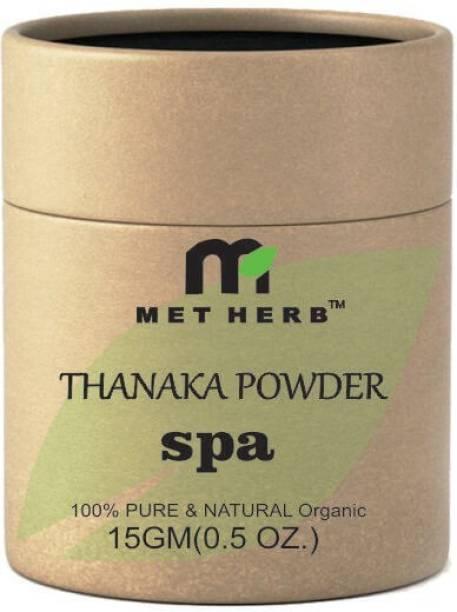 Metherb Thanaka powder for permanent hair removal 15g Cream