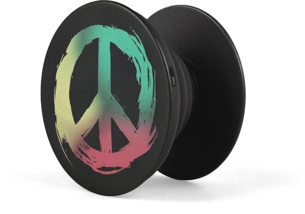 Oye Stuff Tricolour Peace Phone Stand Mobile Holder
