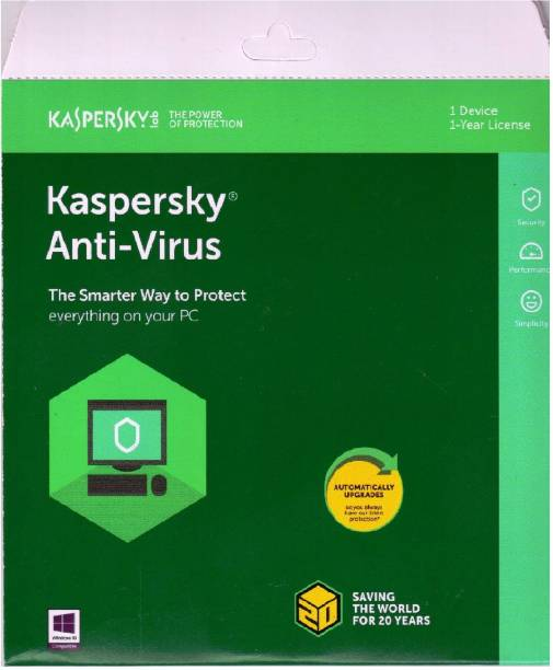 Antivirus - Upto 80% off on Security Softwares Online | Flipkart com