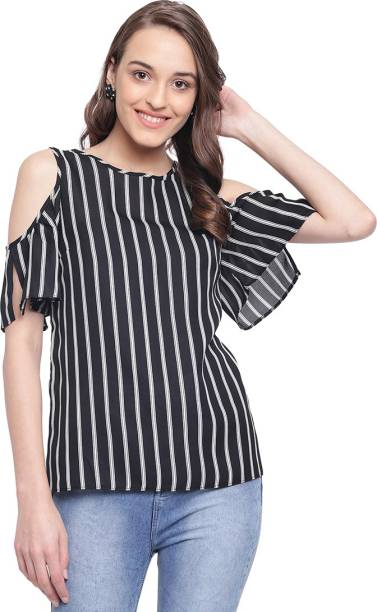 950997e2a0 One Shoulder Tops - Buy One Shoulder Tops online at Best Prices in ...