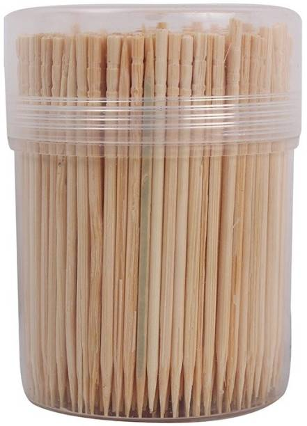 KRISHNA Toothpick Sticks - 250+ Bamboo Toothpick