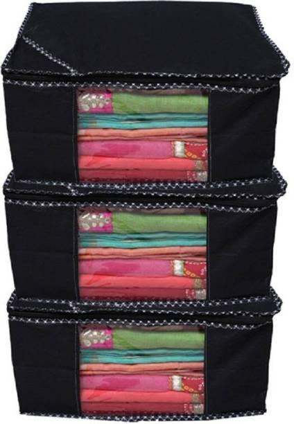 Kuber Industries Saree cover Designer Non woven Saree cover  Saree Bag   Storage bag Set e2f1b14e7c932