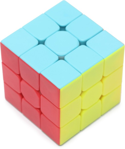 Miss \u0026 Chief Stickerless 3x3x3 High Speed Magic Rubik Cube Toys For Kids 5 7 Years - Buy Online at Low