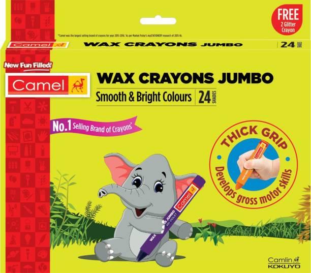 Camel Jumbo Wax Crayons