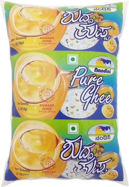 Nandini Pure Cow Ghee 1 L Pouch