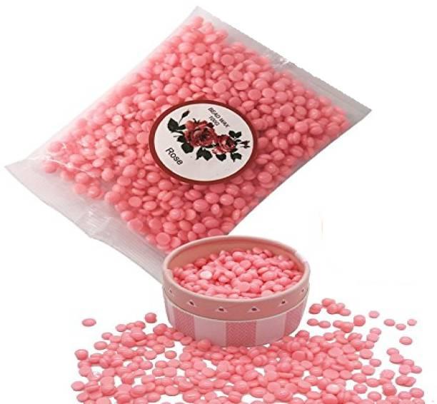 NATURAL rose pink hard beans stripless no pain bikini Wax