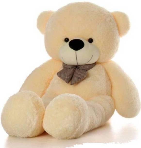 Pooja 5 Feet Cream Teddy - 152 mm