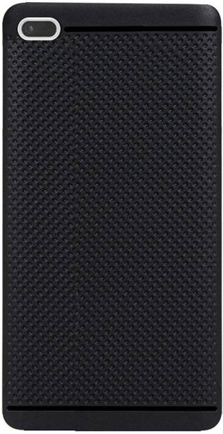 ST Creation Back Cover for Lenovo Tab 7 - 7504X (Black,Rubber,Dotted Design)