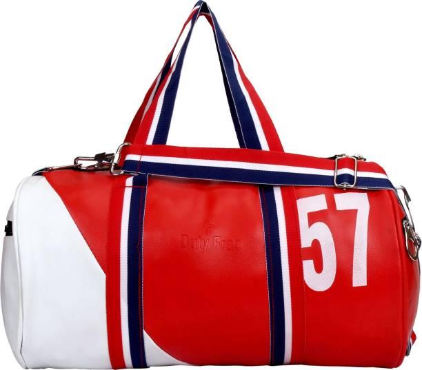 8ca311e159eb DUTY FREE Unisex Premium Quality Travel Duffel Bag Gym Bag Travel Duffel Bag