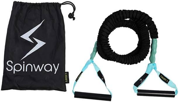Spinway Latex Training Band, Light,Toning Tube, Pull Rope Exerciser Resistance Band