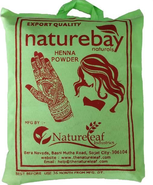 NatureBay Naturals 100% Pure Henna Powder 1Kg(cloth filtered)