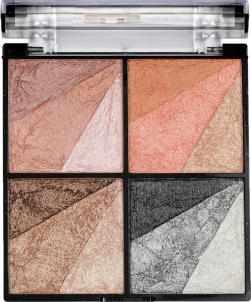 SWISS BEAUTY Eyeshadow-Blusher-Highlighter-Bronzer Palette Highlighter