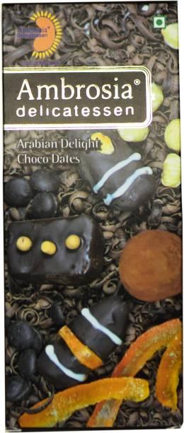 AMBROSIA DELICATESSEN Arabian Delight Choco Dates Dates