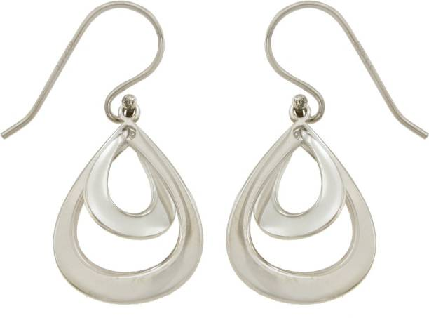 Carlton London S584803E Sterling Silver Dangle Earring