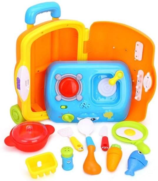 Smartcraft Little Chef Suitcase ,Little Chef Suitcase-Multi Color