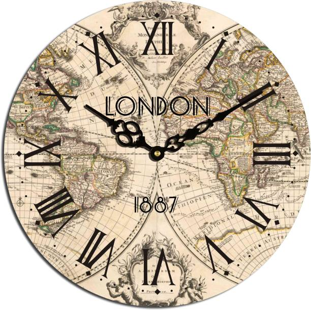 19c2d7ea303 Canvas Wall Clocks - Buy Canvas Wall Clocks Online at Best Prices In ...