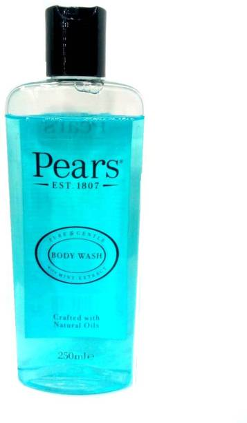 Pears Pure & Gentle With Mint Extract Body Wash