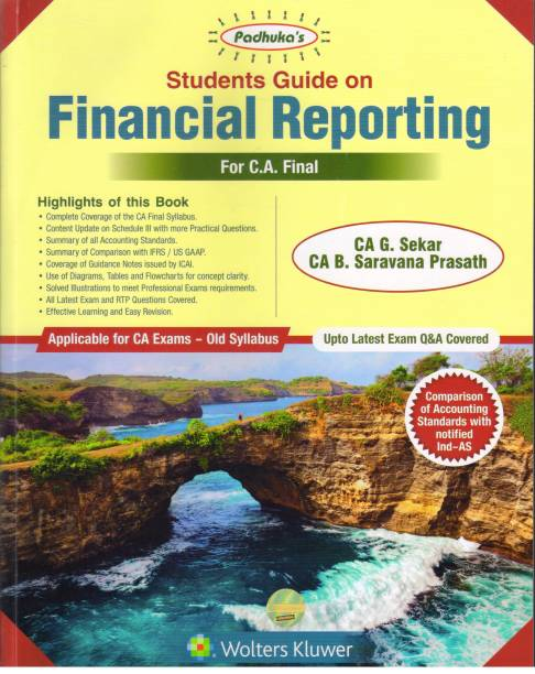 FINANCIAL REPORTING FOR CA FINAL ( OLD SYLLABUS)